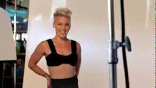 2013: P!nk - Women's Health (Behind the Scenes)