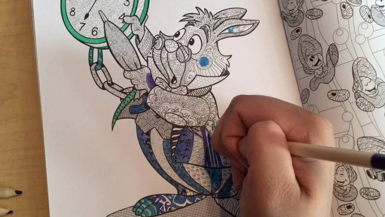 Color Talk 1 Art Of Coloring Disney Animals 💖 Youtube