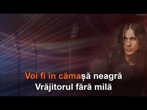 """Vitalicus: """"Cămașa neagră"""". Voce pentru karaoke"""