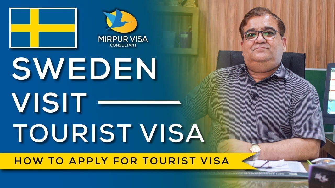 Sweden Visit Visa || how to apply for visit/tourist visa of Sweden