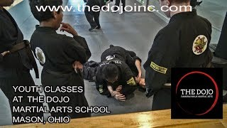 Youth Classes learning at The Dojo Martial Arts