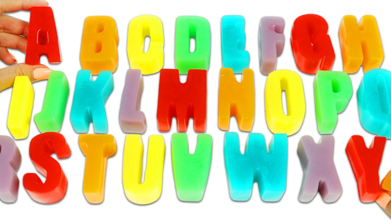 How to Make Rainbow Pastel Gummy Alphabet Letters | Fun & Easy DIY Gummy Treats to Try at Home!
