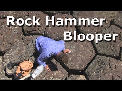 Geology Video Blooper - Columnar Basalt