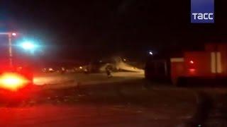 В Калиниграде самолет выехал за пределы взлетной полосы– ВИДЕО