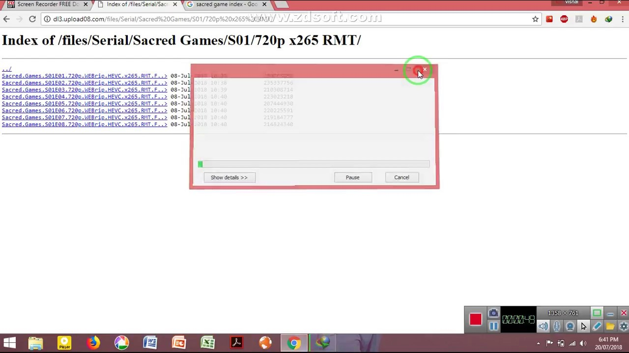 sacred game full season 1 free download in 720p