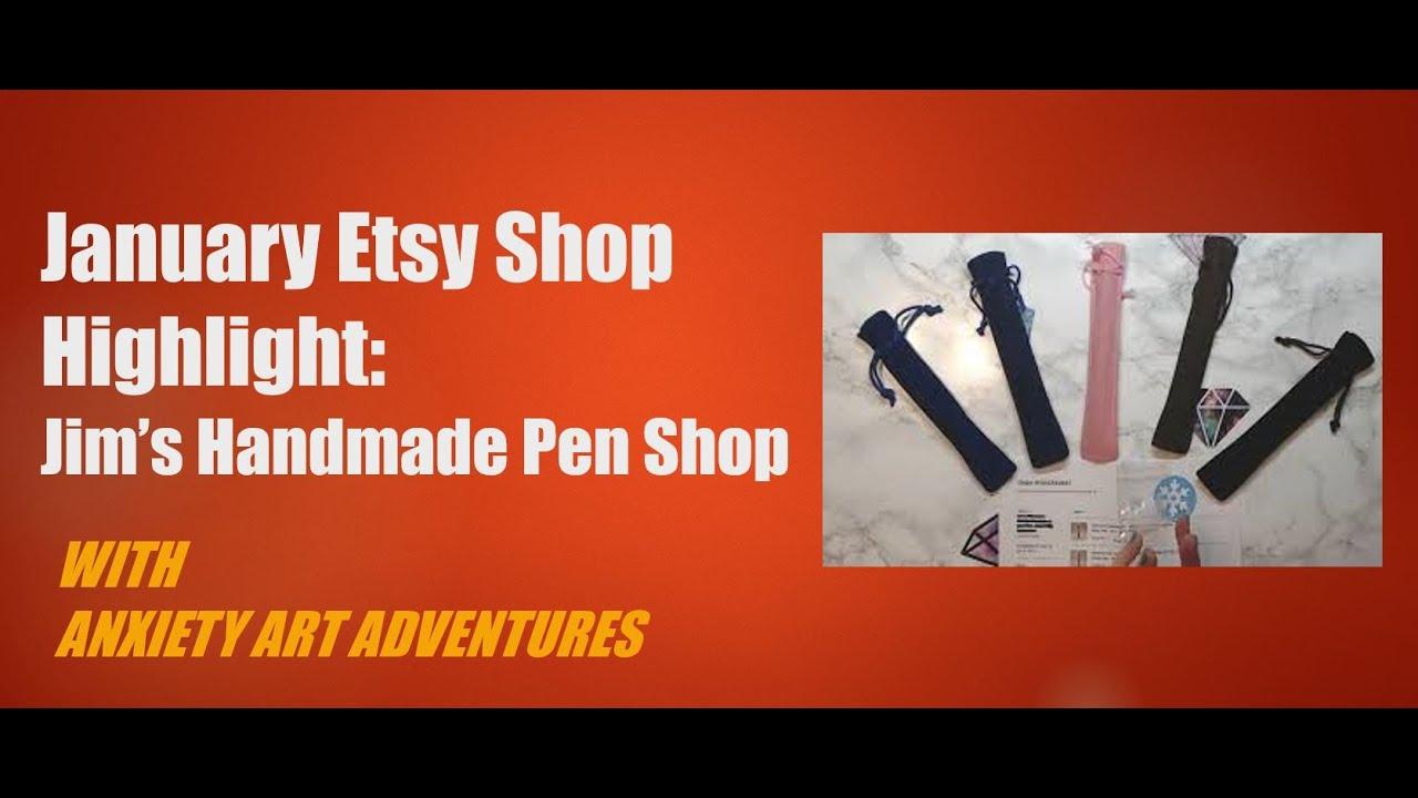 January Etsy Shop HIghlight: Jim's Handmade Pens