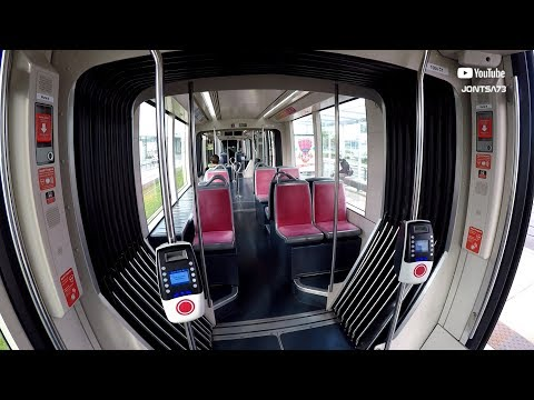 Brest Tramway Citadis 302 Inside View And Info Signs
