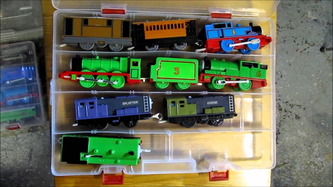 Tomy Trackmaster Engines Storage Box Youtube