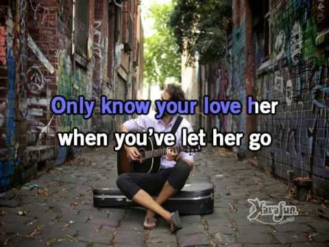 Let Her Go By Passenger ( KARAOKE + INSTRUMENTAL + KARAFUN )