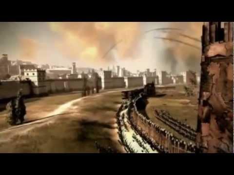 Total War: Rome II - Gameplay dell'assedio di Cartagine |