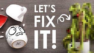BROKEN MUG? NO PROBLEM! - Let's Fix it!