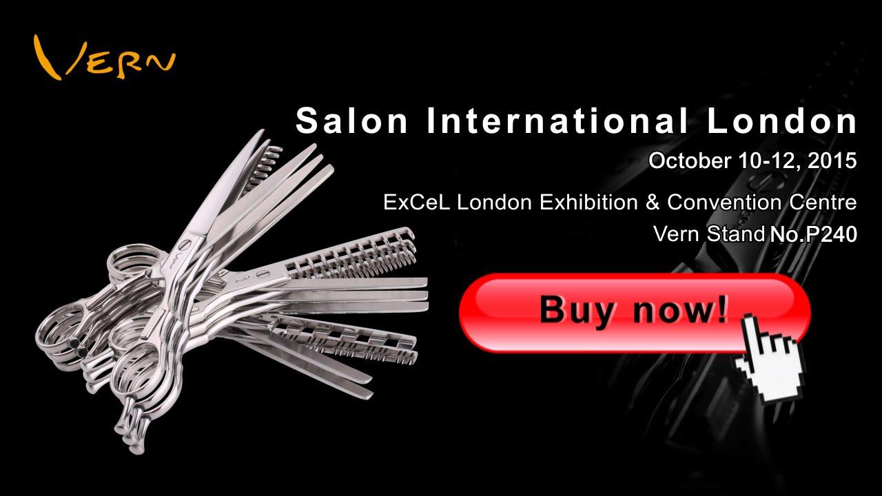 The Best Hair Scissors Salon International 2017 Visit Us N180 Excel London You