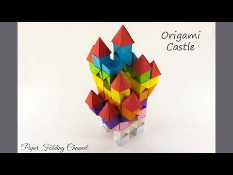 Paperfoldingchannels Origami 3d Cube Youtube Video On Subsvolumecom