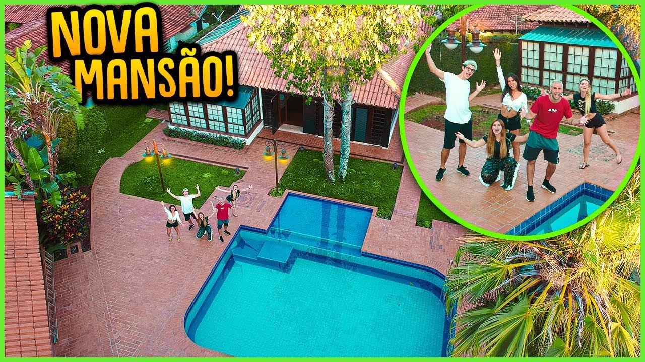 A MANSÃO NOVA DO CANAL!! ( PRIMEIRA  VEZ NA NOVA CASA ) [ REZENDE EVIL ]