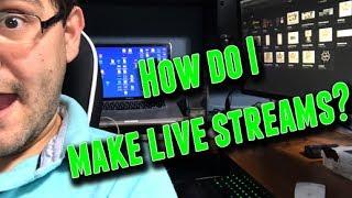 How do I do my live streams?