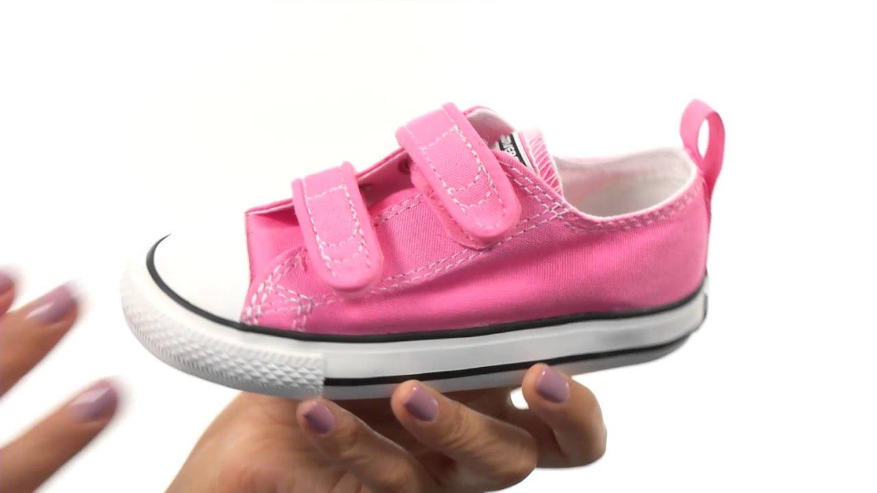 8ff11ce090e25 Converse Kids Chuck Taylor 2V Ox (Infant/Toddler) SKU:7541455