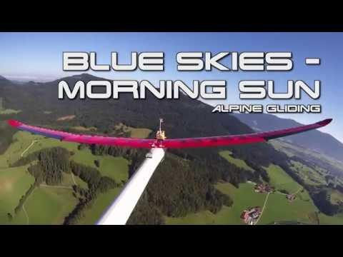 Blue Skies - morning sun