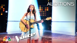 The Voice 2019 Blind Auditions - Mikaela Astel: