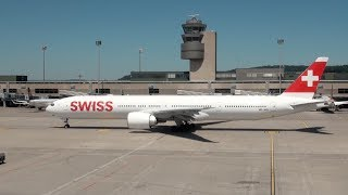 41 Airlines - 88 Aircraft: Rush Hour Action Spotting at Zurich ZRH Airport 05/2017