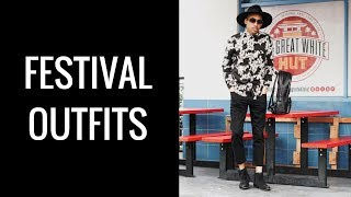 MUSIC FESTIVAL OUTFITS FOR GUYS | 3 OUTFITS | PERFECT FOR COACHELLA | OTR NO. 4