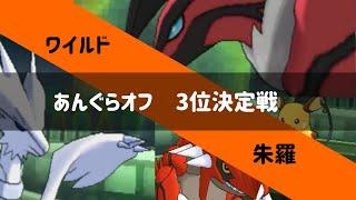 【ポケモンUSUM】あんぐらオフ 3位決定戦 朱羅 vs ワイルド