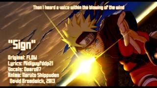 "ENGLISH ""Sign"" Naruto Shippuden [TV-SIZE]"