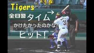 阪神 マルテ『タイムをかけたかったのでは ヒット』 vs 横浜DeNA 2019年5月5日甲子園球場