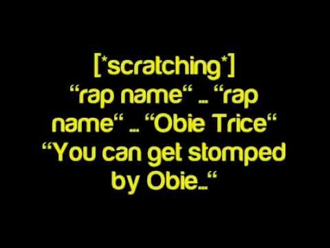 Obie Trice - Rap Name - Lyrics