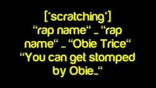 Obie Trice - Rap Name - Lyrics
