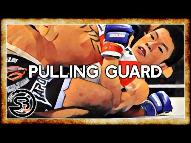 Pulling Guard in MMA - BJJ in MMA Study