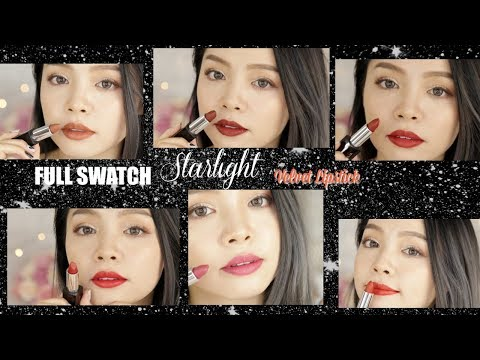 Swatch & Review OFELIA Starlight Velvet Lipsticks ♡ TrinhPham