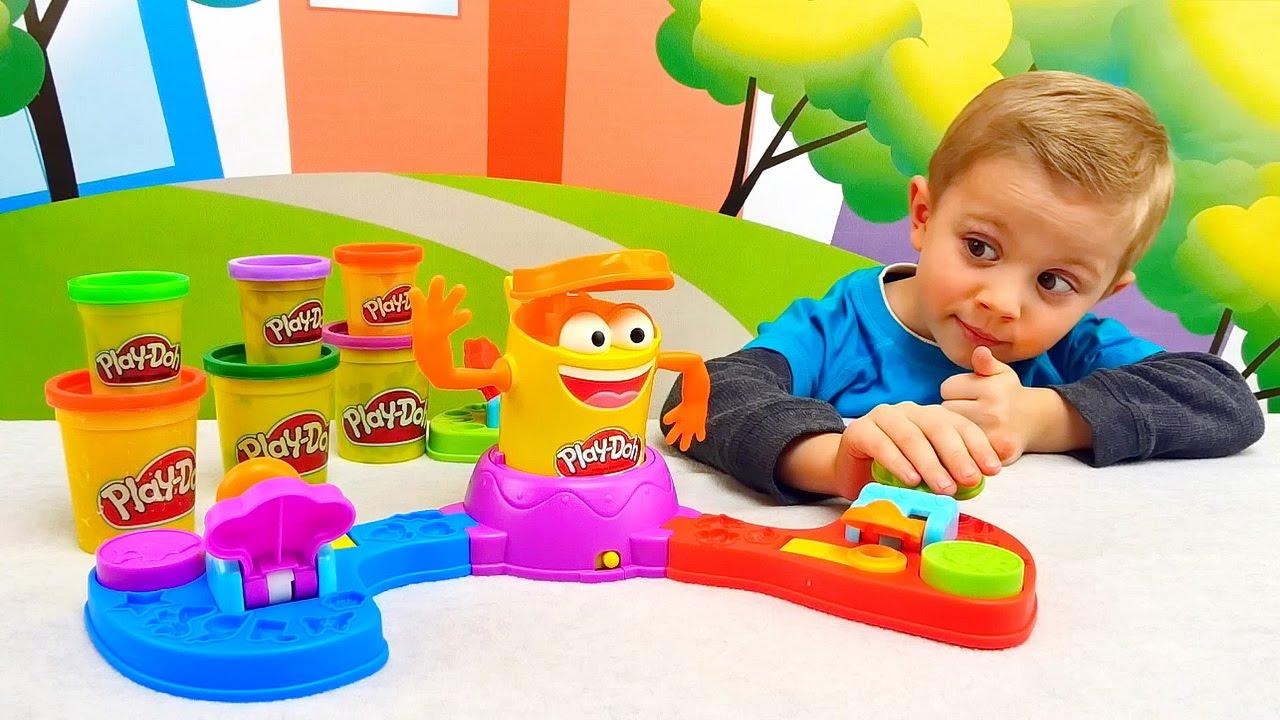 Плей До для детей Игровой набор ДоДошка Прямо в Цель - Play Doh playset for kids