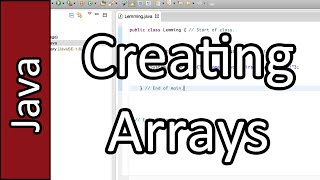 Arrays - Java Programming Tutorial #23 (PC / Mac 2015)