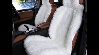 видео Автомобильные накидки и авточехлы на сидения. Меховые автонакидки и авточехлы по Акции!