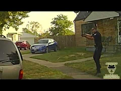 Dash Cam Shows Officer Do Everything He Can | Active Self Protection