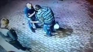 Double Knockout! Old Man Teaches Two Punk Teenagers A Lesson