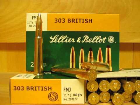 303 British 180 grain FMJ Ammo by Sellier Bellot - SB303A at SGAmmo.com