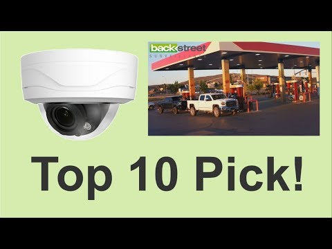 Outdoor Mini Dome Camera - Business Security Top Pick