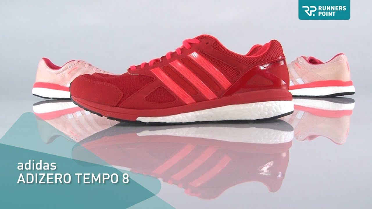 adidas ADIZERO TEMPO 8 - YouTube 7348b0ed3