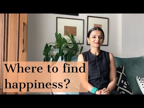 Where to find happiness?