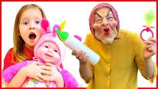 Няня и история забавных детей | Правила поведения для детей