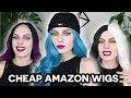 $$$ TESTING CHEAP AMAZON WIGS $$$