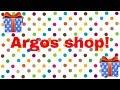 Vlog | Argos shopping !