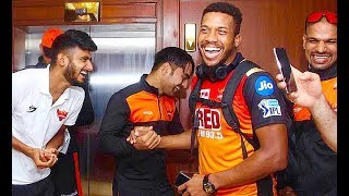 Srh 2018 I Inside Dressing Room | Vivo Ipl Funny videos