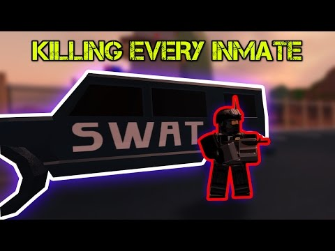 CRAZY SWAT TEAM KILLER in Jailbreak!...