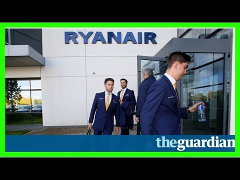 Ryanair to recognise unions to prevent pilots' strike before christmas
