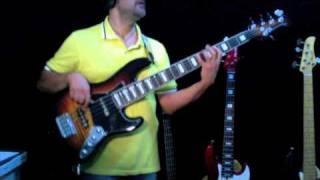 Boz Scaggs - JO JO personal bassline by Rino Conteduca with bass MAYONES JABBA 5