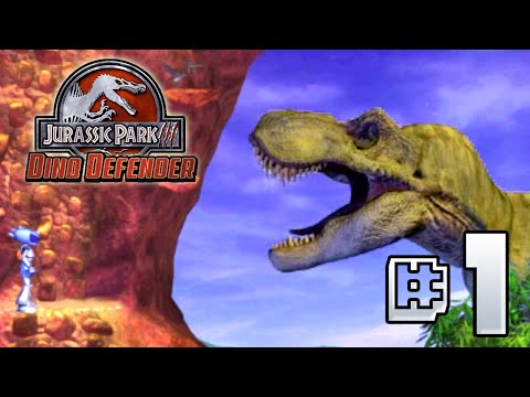 DINO DEFENDER!!! || Jurassic Park III - Dino Defender PC [ Jurassic Park Month ]