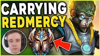 Download *I FOUND REDMERCY* #1 WUKONG WORLD + REDMERCY = FREELO (IN HIGH ELO) - League of Legends Mp3 and Videos
