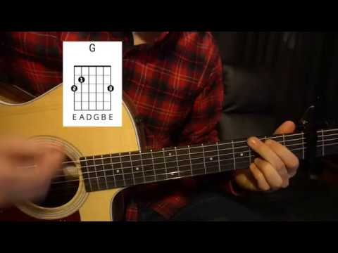 Easy Guitar Lesson // Ray LaMontagne // Such a Simple Thing